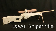 L96A1 Sniper rifle rubber band gun