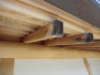 木部のアク洗い施工例①:施工完了後