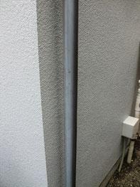 外壁リフォーム施工実績:雨樋塗装<施工前>