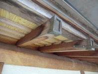 木部のアク洗い施工例①:施工前