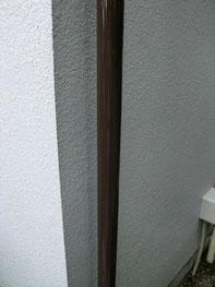 外壁リフォーム施工実績:雨樋塗装<施工後>