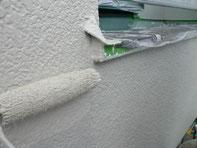 外壁塗装:上塗り