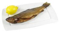Heiß geräucherte heimische Fische
