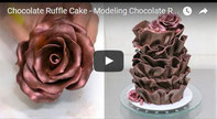 Modeling Chocolate Recipe,Chocolate Rose Tutorial,modeling chocolate,chocolate cake decorating,cake decorating,stunning cake,beautiful cake,amazing cake,cake artist,