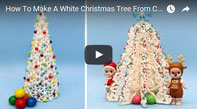 Chocolate tree tutorial,chirstmas chocolate,white chocolate pastry,