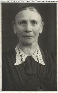 Auguste Johanna Wiechert, geb. Thiel