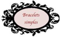 Découvrez au fil de cette page les créations des bracelets basiques des Tiroirs Secrets de Fantine