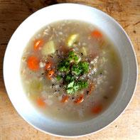 Gersten Suppe