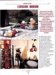 Réussir mai 2012, article sur l'atelier DARLOU