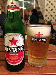 インドネシアと言えばビンタンビールです