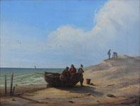 """Ausstellung im OMMM: Caspar David Friedrich """"Fischer auf Rügen"""", 1804, Öl/Lw"""