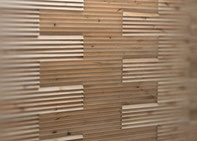 Wand-Design / 3D-Optik, S. Fischbacher Living