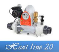 Link Heat Line 20 Wärmetauscher Poolheizung Zodiac
