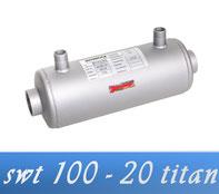 Link Behncke QWT 100 - 40 30 kW Wärmetauscher Poolheizung