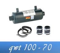 Link Behncke QWT 100 - 70 50 kW Wärmetauscher Poolheizung