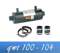 Link Behncke QWT 100 - 104 90 kW Wärmetauscher Poolheizung