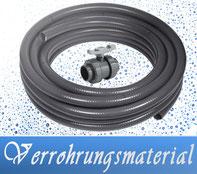 Link Verrohrungsmaterial Fittinge Kugelhähne SABA Kleber PVC-Reiniger