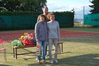 Grün/Nebrich (Sieger Damen-Doppel)