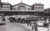 Gare de l'est en 1900