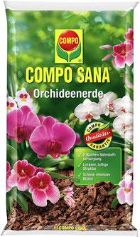 Substrat für Zimmerpflanzen - Orchideenerde mit Pinienrinde [Borke] bietet optimale Voraussetzungen für ein lockeres, luftiges Substrat für Zimmerpflanzen.
