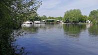 Abteibrücke zur Insel der Jugend