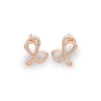 gioielli biancopunto jewels orecchino fiocco infinity