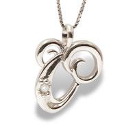 gioielli biancopunto jewels ciondolo ariete zodiaco zodiac