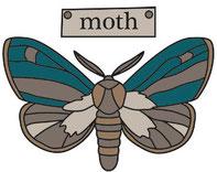 moth design