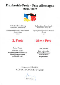 2002 Frankreich-Preis