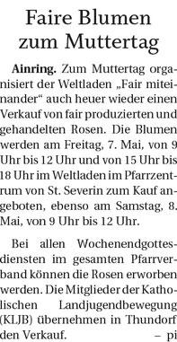 Quelle: Freilassinger Anzeiger, 28.04.2021
