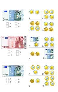 Užduotėlės su pinigais