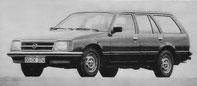 Mit gefälliger Karosserie: Commodore in Kombiversion