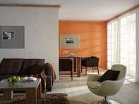 Lesando, natürlich mit Lehm, 5 Stilwelten, 630 Farbtöne und 70 Effekte.  Die kreative Wandgestaltung mit Lehmputz und Lehmfarbe.