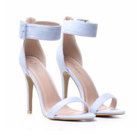 Light Blue Stiletto Heels   NOW £17.50 with code HOT30