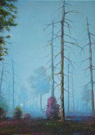 JENS HAUSMANN, WALDSTÜCK 13, 2011, Öl auf Leinwand, 70 x 50 cm, € 3.600,--