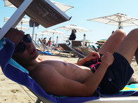 Strand van Rimini