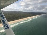 Fraser island rondvlucht