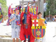 Barcelona mascotte foto