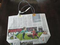 *リサイクル手作り袋