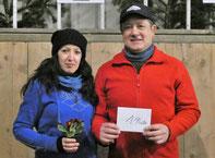 Siegerteam Sandra und Norbert