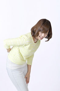 脊柱管狭窄症の女性
