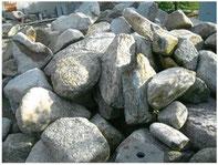 自然石(安田産御影石)