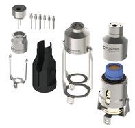 Mechatest Liquid Sampler On/Off Needle Purge Configuration A1-A5
