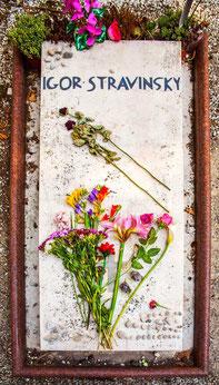 Stravinski-Grab - VENEDIG