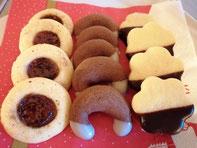 Weihnachtskekse mit Schweineschmalz