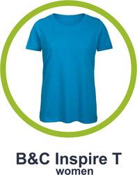 T-Shirt B&C inspire T women bedrucken