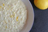 Buchrezension und ein Rezept Thermomix für Ligurisches Risotto mit Zitrone