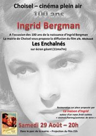 Cinéma plein air gratuit le 29/08/2015