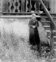 Мати Никифора - світлина з 1917 або 1914/15
