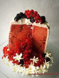 Wassermelonen- Torte